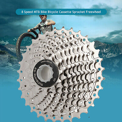 8 Speed MTB Bike Bicycle Cassette Sprocket Freewheel For Shimano HG41 11-32T NEW • 14.98£