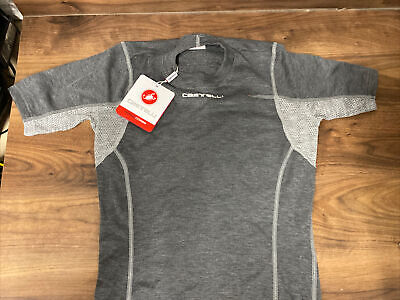 Castelli FLANDERS LS Long Sleeve Thermal Cycling Base Layer : Brand New With Tag • 44£
