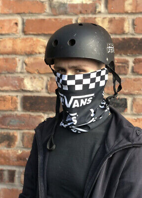 BMX/skateboarding Snood Face Coving. Vans Print • 6.99£