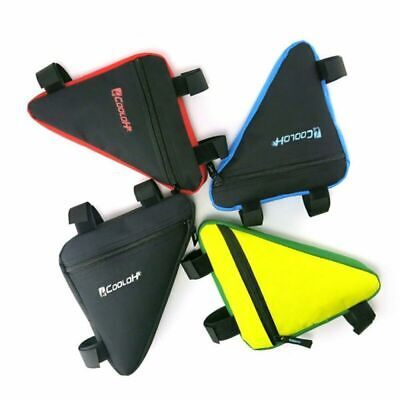 Mountain Bike Bicycle Cycling Front Top Tube Frame Saddle Storage Bag Pack Pouch • 5.89£
