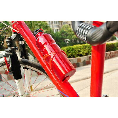 Bike Bicycle Cycling 800ML Mountain Water Drink Bottle & Adjustable Holder Cage • 2.79£
