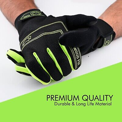 WFX Cycling Gloves Full Finger Best Quality Windproof Touchscreen Gel Palm Glove • 7.99£