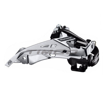 Shimano Tourney FD-TY700 MTB 7/8 Speed Front Derailleur Dual Pull FD-TY500 • 10.99£