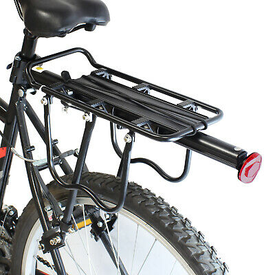 Pedalpro Strong Alloy Rear Bicycle Pannier Bag/luggage Rack Reflector Bike/cycle • 14.99£