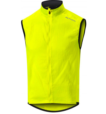 Altura Airstream Mens Cycling Gilet Hi-Viz Yellow Size XL New With Tag Free P&P  • 28.99£