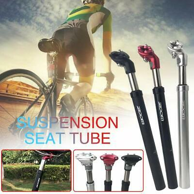 Suspension Bicycle Seatpost Seat Post Aluminium Shock Absorption Damping Tube • 23.99£
