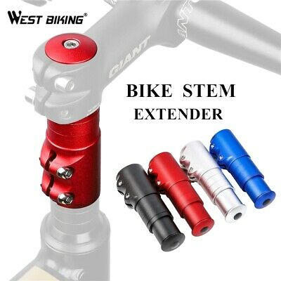 Bicycle Handlebar Riser Head Up Adapter Fork Stem Extender Cycling Part Tool  • 9.49£