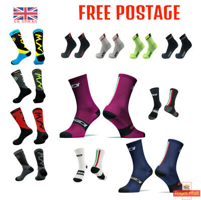 Original Cycling Breathable Outdoor Bicycle Gym Sport Socks Protect Feet UK   • 5.99£