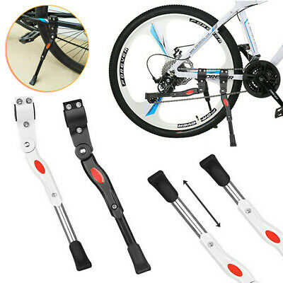 Heavy Duty Adjustable Mountain Bike Bicycle Cycle Prop Side Rear Kick Stand New • 9.99£