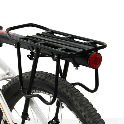 Outdoor Bicycle Rear Back Adjustable High Luggage Backpack Pannier Carrier Rack  • 12.50£