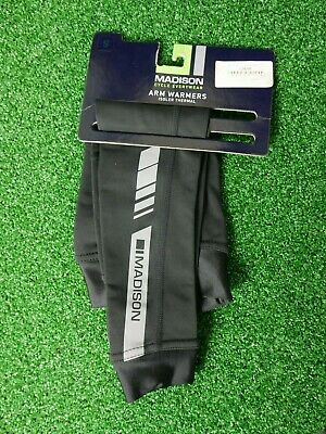 Madison Isoler Thermal Cycling Arm Warmers, Black • 13.99£