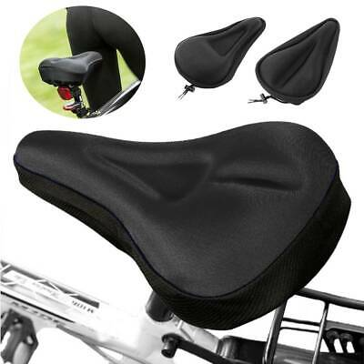 3D Soft Cycling Bicycle Bike Seat Cover Sponge Outdoor Breathable Cushion ##k • 5.45£