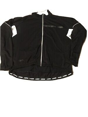 Madison Road Cycle Hybrid Thermal Roubaix Cycle Jersey Full Zip Mens Black XXL • 19.99£