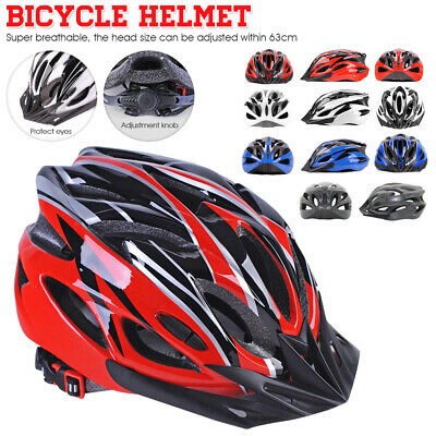 Unisex Bicycle Cycling MTB Road Bike Carbon Helmet Skate Helmet Safety Protect • 19.99£