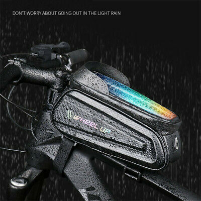 Waterproof Bicycle Bike Mount ≤6.7  Phone Holder Case Bag Pouch Cover • 11.99£