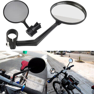 Bicycle Handlebar Rearview Mirror Cycling MTB Bike Looking Glass Mirrors • 2.97£