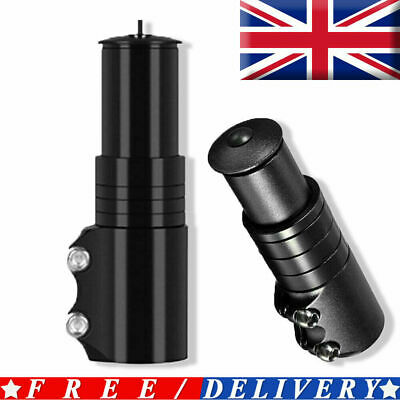 Bike Handlebar Risers Bicycle Fork Stem Raiser Extender Head Up Raiser Aluminium • 6.79£