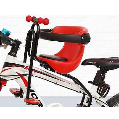 Kids Front Bike Seat Child Bicycle Safety Chair Baby Carrier Saddle Soft Cushion • 24.59£