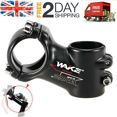 WAKE 31.8mm MTB Front Rod Stem Part 60mm Road Bike Stem Bicycle Handlebar O3K6 • 9.79£