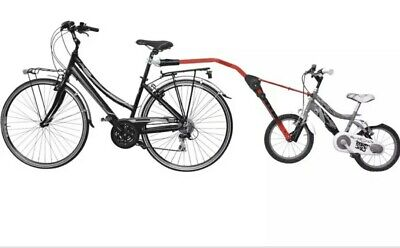 Trail Angel Plus Foldable Baby Red Cycle Towing Bar • 58.50£