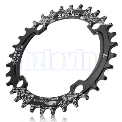 Bike Narrow Wide Round BCD 104mm Chainring Ring 32T Single Tooth Chain UK Stock • 6.99£