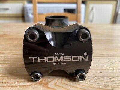 Thomson Elite Stem - 25.4mm Clamp / 4 Bolt Faceplate / 90mm Length / 5deg Rise • 5£
