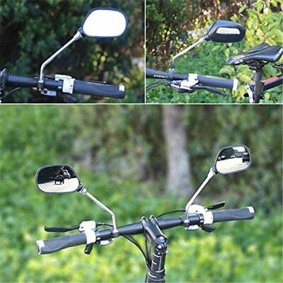 1 Pair 360° Flexible Bicycle Bike Handlebar Reflector Mirror Rearview Cycling • 6.55£