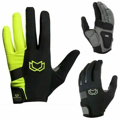 WFX Mountain Bike Bicycle Cycling Full Finger Gloves BMX MTB Riding Touchscreen • 7.99£