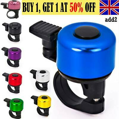 Bike Bell Bicycle Bell Horn Crisp Clear Sound Cycling Accessories Ring Bell AAUK • 3.49£