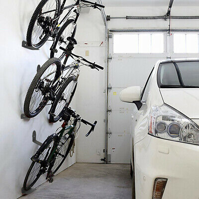 3Pcs Metal Wall Mount Mountain Road Bike Hanger Storage Rack Bicycle Holder Set • 20.39£