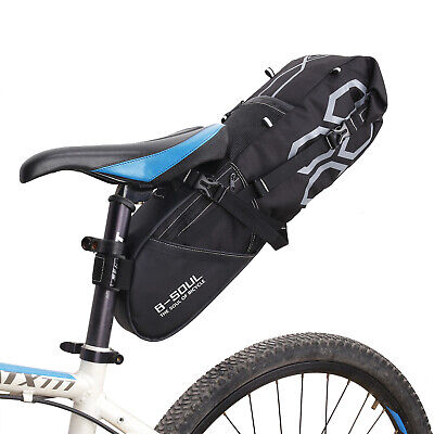 New Large Bike Saddle Bag MTB Seat Pack Bag Riding Cycling Bicycle Pocket UK • 18.12£
