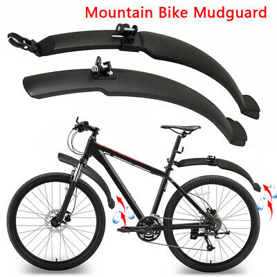 UK Mountain Bike Mudguard 26'' Bicycle Cycling Front Rear Mud Guards Fenders Set • 6.35£