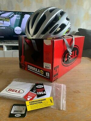 Bell Formula Mips Road Helmet Unisex , Silver Size Small • 16.30£