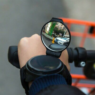 Adjustable Armband Rearview Bicycle Mirror Wrist Band 360° Bike Rear View Mirror • 8.59£