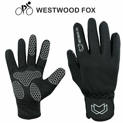 WFX Full Finger Cycling Gloves Winter Gloves Mens Anti Slip Thermal Windproof • 5.99£