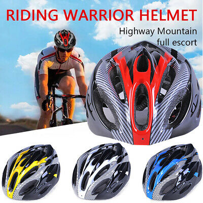 MTB Protective Safety Helmets Mountain Bike Bicycle Cycle Adult Road Cycling UK • 17.99£
