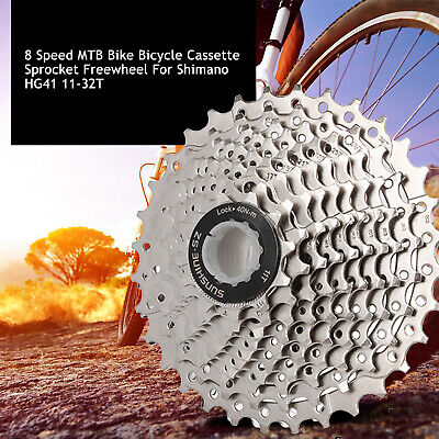 8 Speed MTB Bike Bicycle Cassette Sprocket Freewheel For Shimano HG41 11-32T UK • 15.55£