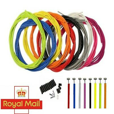 Gear Cable Brake Set Inner & Outer Front & Rear MTB Mountain Bike Bicycle UK • 5.69£