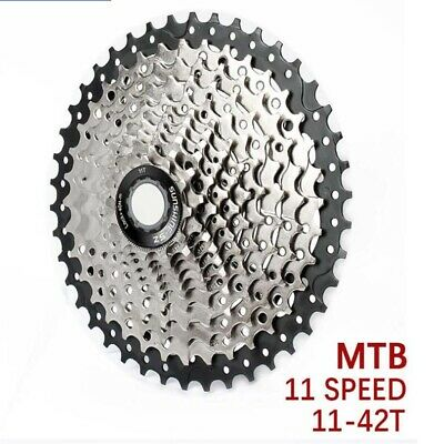Clarks 11 Speed Cassette, SRAM Compatible MTB/Hybrid Cycle - 11t-42t UK HOT • 28.99£
