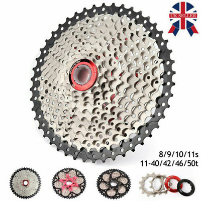 8/9/10/11 Speed MTB Mountain Bike Bicycle Cassette Sprocket Freewheel 30-52T UK • 12.39£